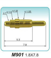 Large market demand for round hole pogopin headers!RF Pogo Pin factory(图1)