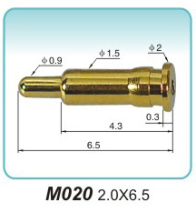 Why is the smaller size pogopin connector more advantageous?